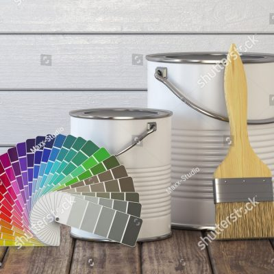 stock-photo-paint-cans-paint-brush-and-color-palette-on-wood-table-d-illustration-704103553-1.jpg